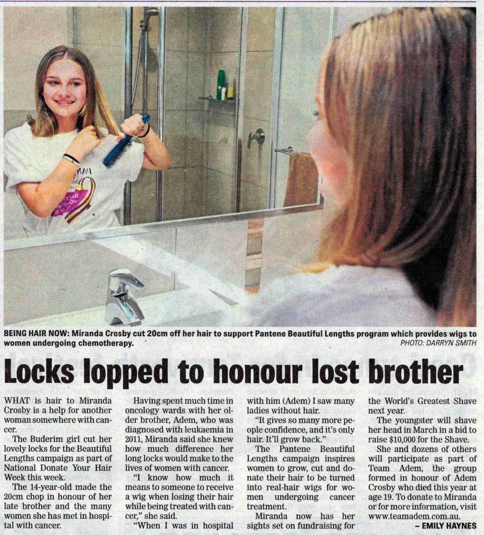 locks-lopped-to-honour-brother